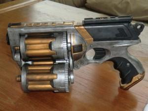 Die fertige Waffe