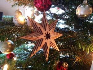 Weihnachtsstern im Gebrauch
