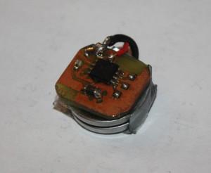 Zu sehen ist das feine Layout und der Stapel aus zwei Batterien