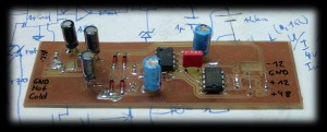 INA217 instrumentation amplifier
