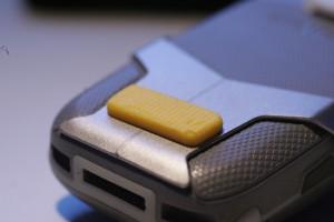 M65 Pin Riegel eingebaut