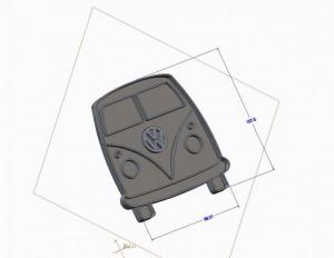 VW Bus CAD