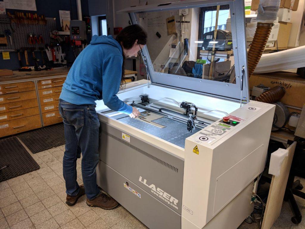 Neuer Lasercutter